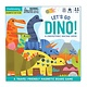 Let's Go, Dinos! Magnetic Board Game