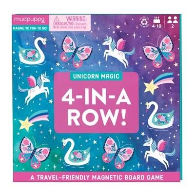 Unicorn Magic 4-in-a-Row Magnetic Board Game
