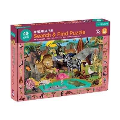 African Safari Search & Find Puzzle