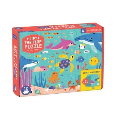 Ocean Party Lift-the-Flap Puzzle