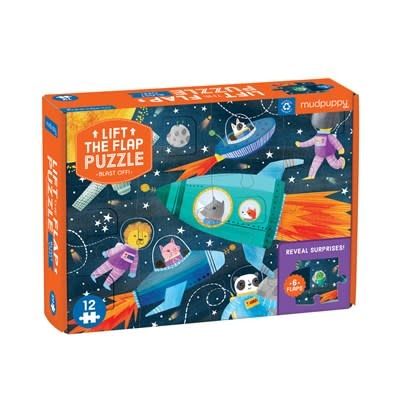 Blast Off! Lift-the-Flap Puzzle