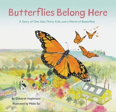 Chronicle Books Butterflies Belong Here