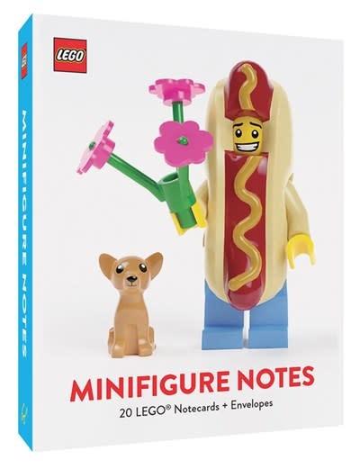 Chronicle Books LEGO Minifigure Notes