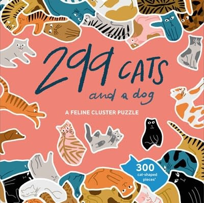 Laurence King Publishing 299 Cats (and a dog)