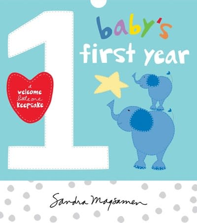 Sourcebooks Wonderland Baby's First Year
