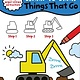 Sourcebooks Wonderland My First Learn-To-Draw: Things That Go