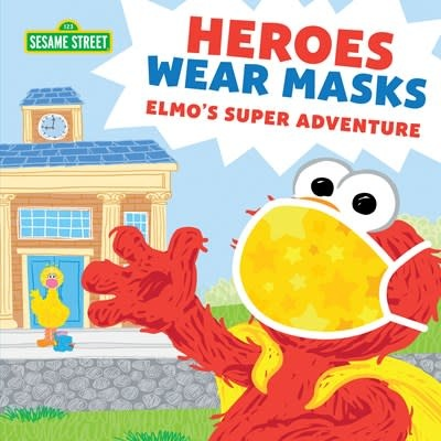 Sourcebooks Wonderland Sesame Street: Heroes Wear Masks (Elmo's Super Adventure)