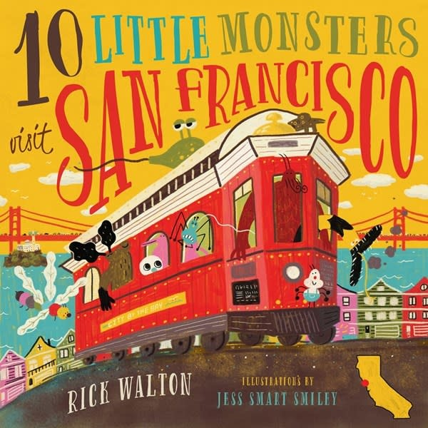 Familius 10 Little Monsters Visit San Francisco, Second Edition