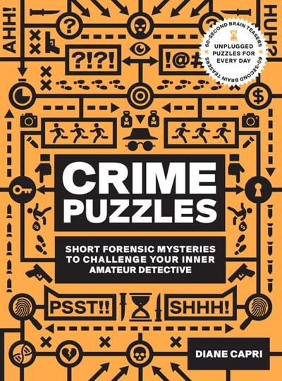 Fair Winds Press 60-Second Brain Teasers Crime Puzzles