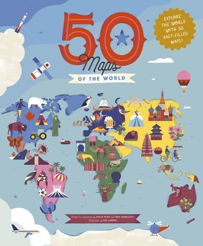 Wide Eyed Editions 50 Maps of the World