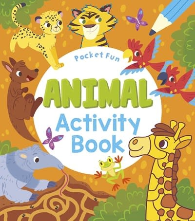 Arcturus Pocket Fun: Animal Activity Book
