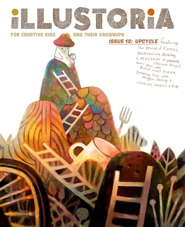 Illustoria Magazine Illustoria: For Creative Kids and Their Grownups
