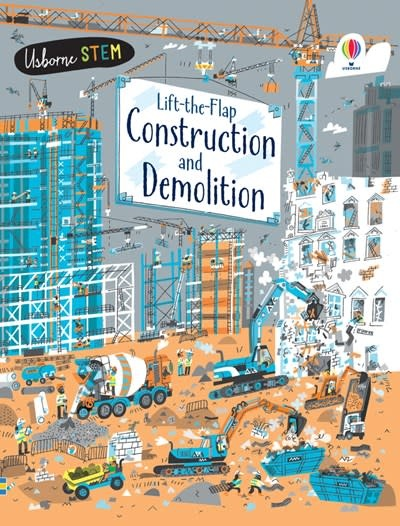 Usborne Lift-the-Flap Construction and Demolition iR