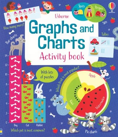 Usborne Graphs and Charts Activity Book