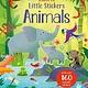 Usborne Little Stickers Animals