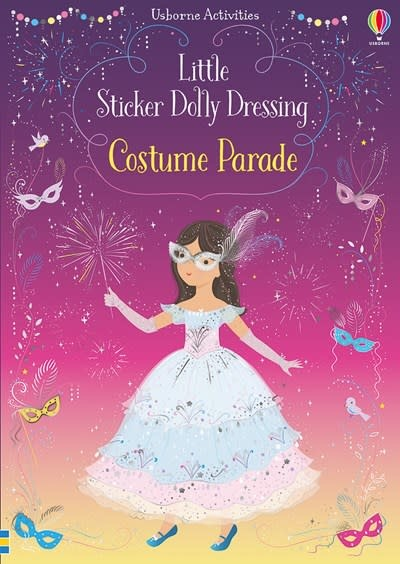Usborne Little Sticker Dolly Dressing Costume Parade (with FOIL COVER  was Carnival)
