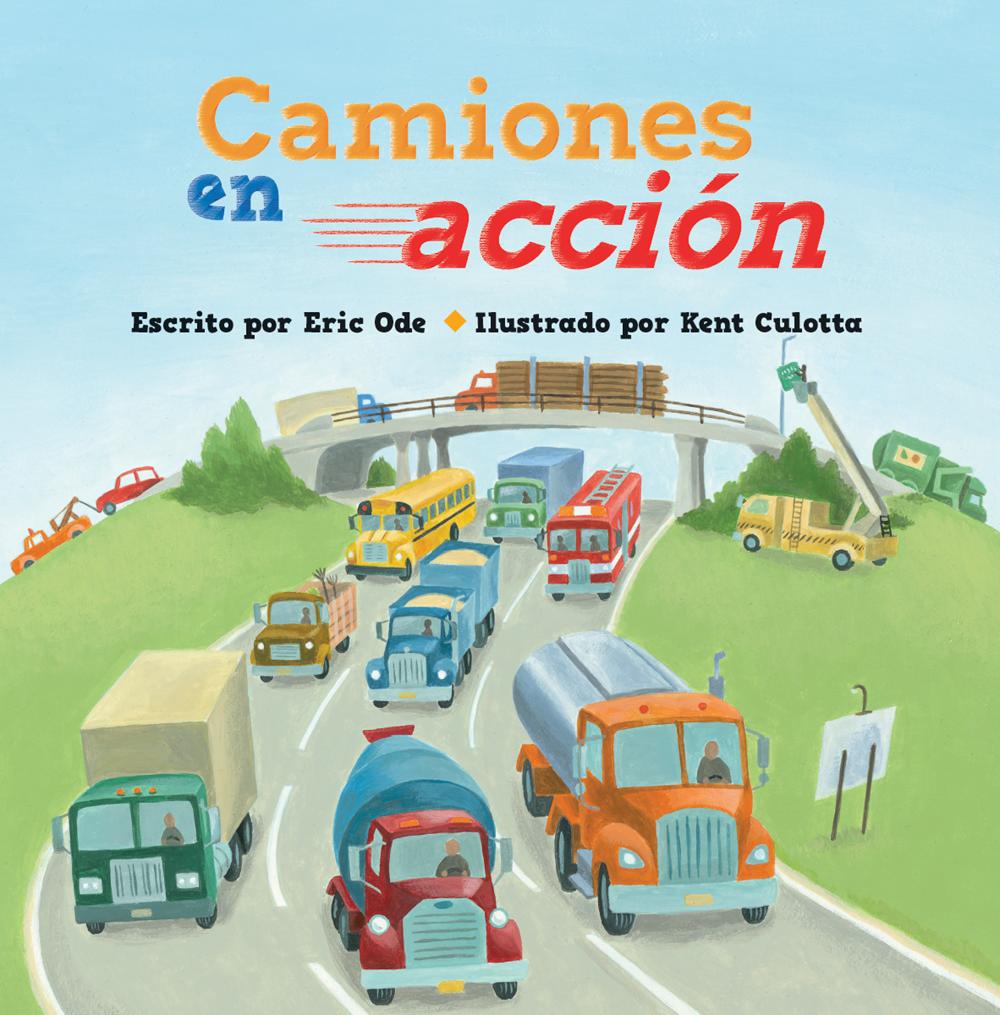 Kane Miller Camiones en acción - Busy Trucks on the Go