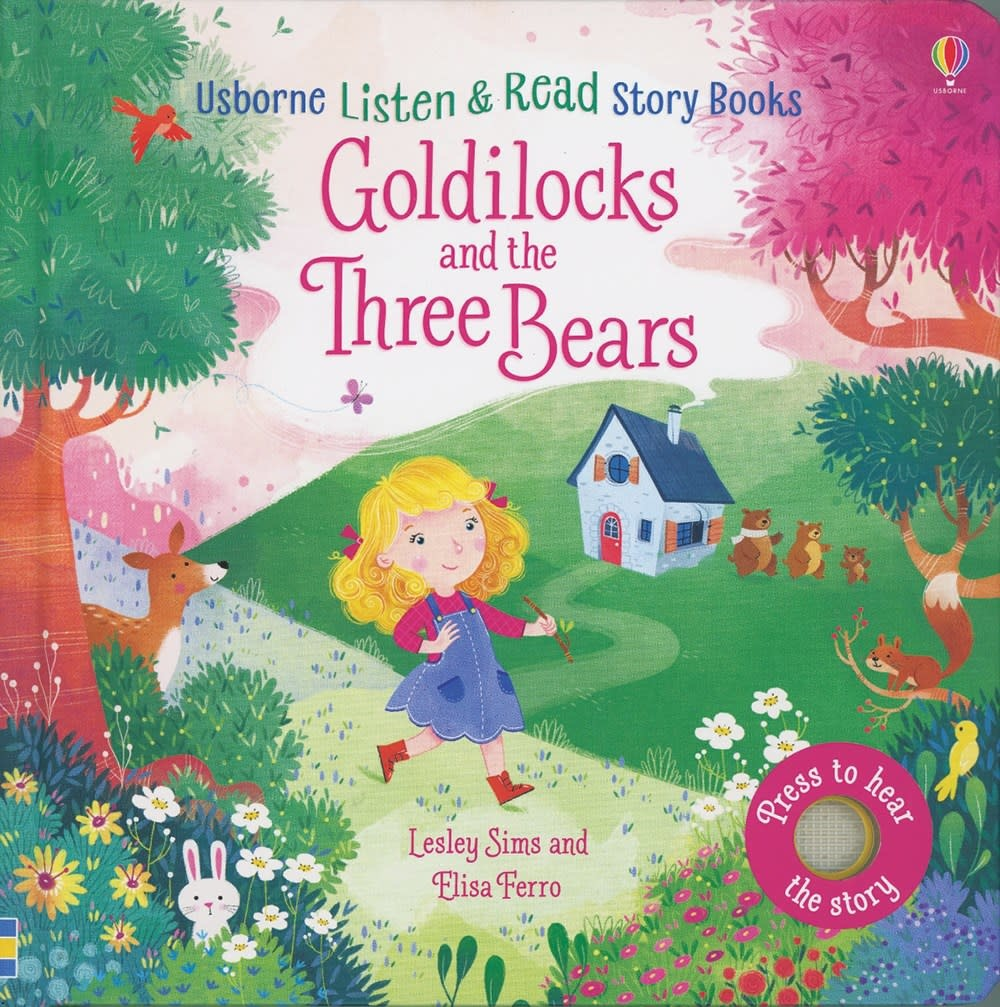 Goldilocks and the Three Bears Listen & Read Story Book