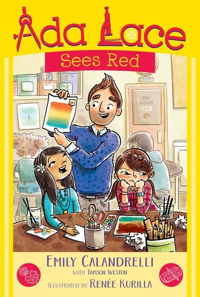 Simon & Schuster Books for Young Readers Ada Lace 02 Sees Red