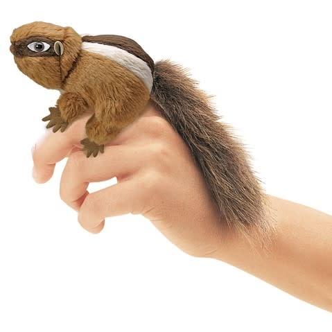 Folkmanis Mini Chipmunk (Finger Puppet)