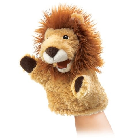 Folkmanis Little Lion (Small Puppet)
