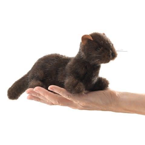 Folkmanis Mini Mink (Finger Puppet)