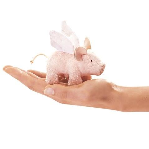 Folkmanis Mini Winged Piglet (Finger Puppet)