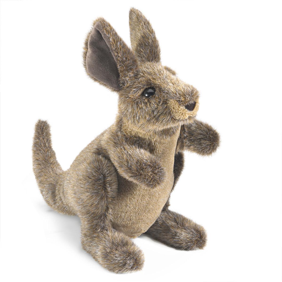Folkmanis Small Kangaroo (Hand Puppet)