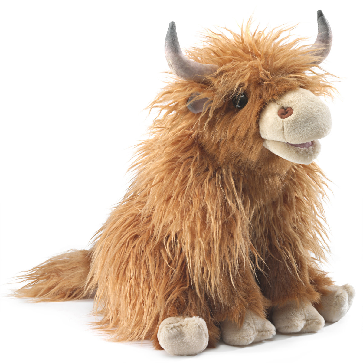 Folkmanis Highland Cow (Large Puppet)