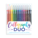 Ooly Calligraphy Duo Chisel and Brush Tip Markers (Set of 12)