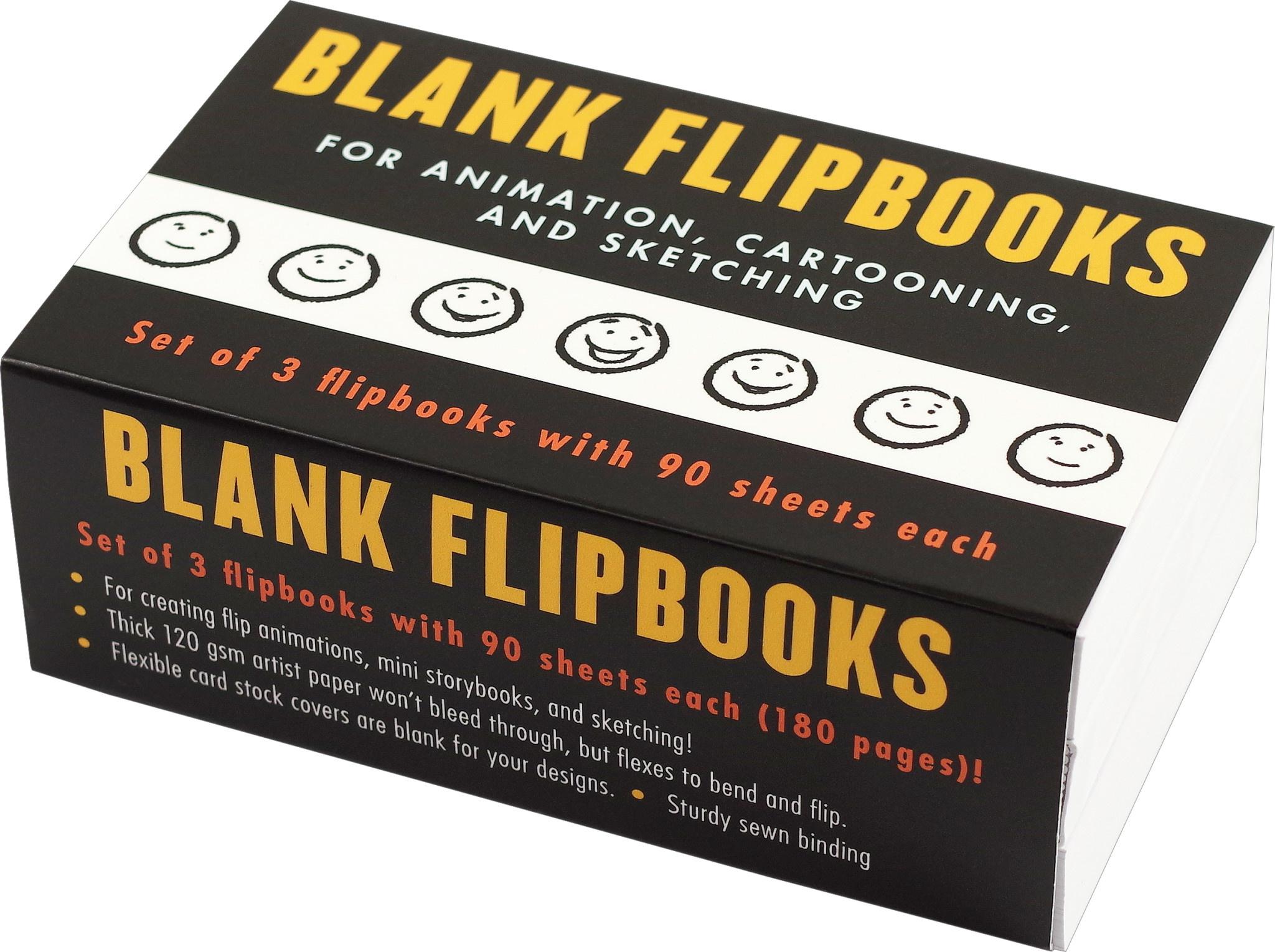 Blank Flipbooks (Set of 3)