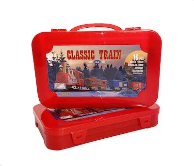 Classic Toy Train Set (16 Pieces)