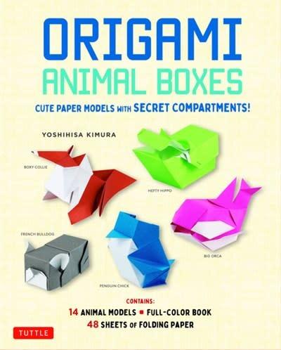 Tuttle Publishing Origami Animal Boxes Kit