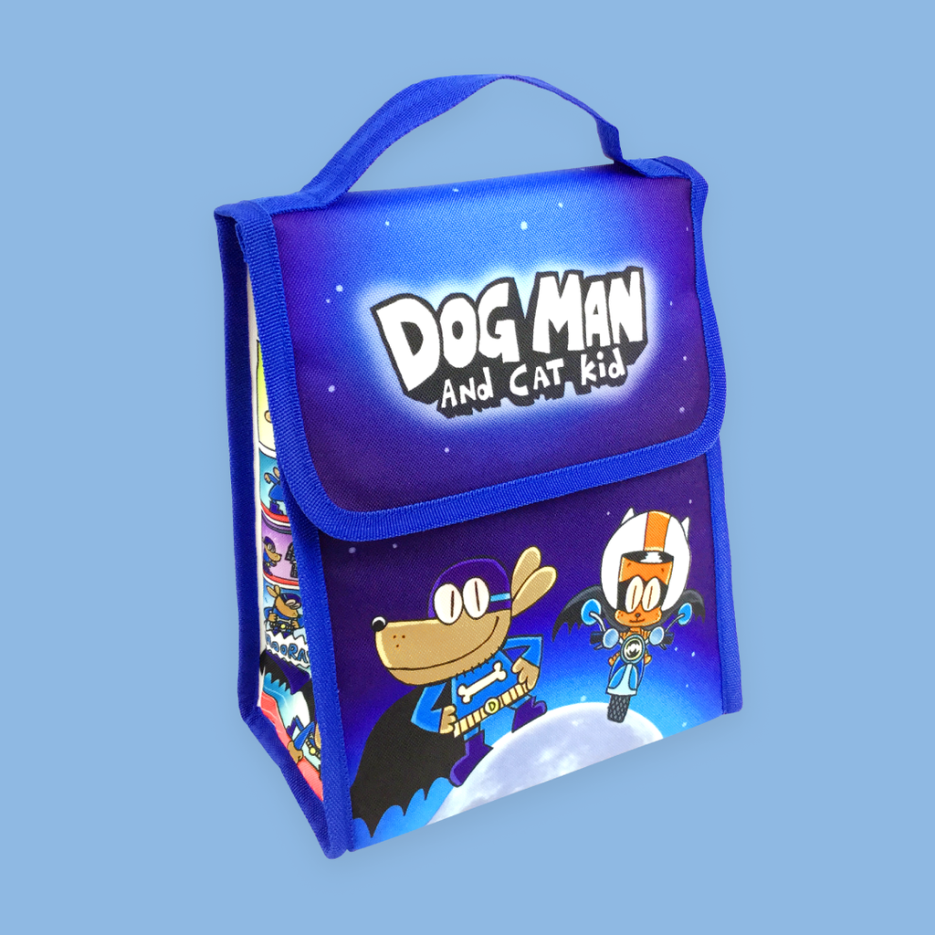 Dog Man and Cat Kid Insulated Lunchbag