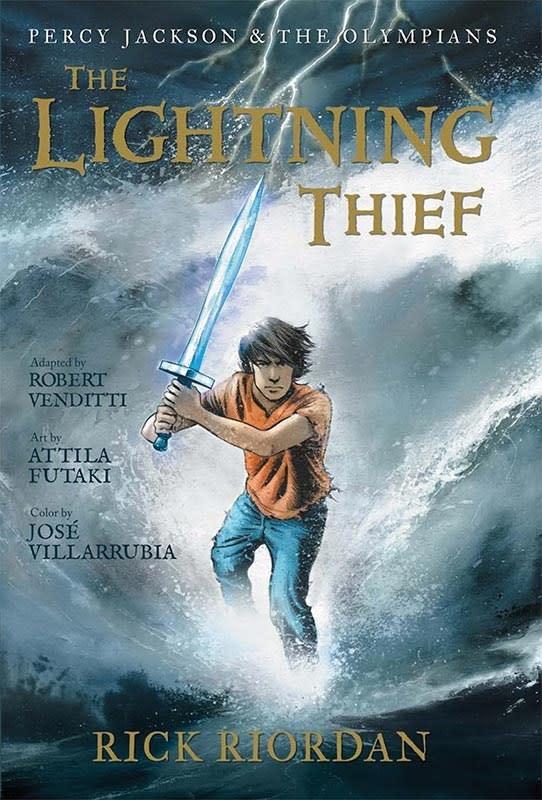 Percy Jackson 01 The Lightning Thief (Graphic Novel)