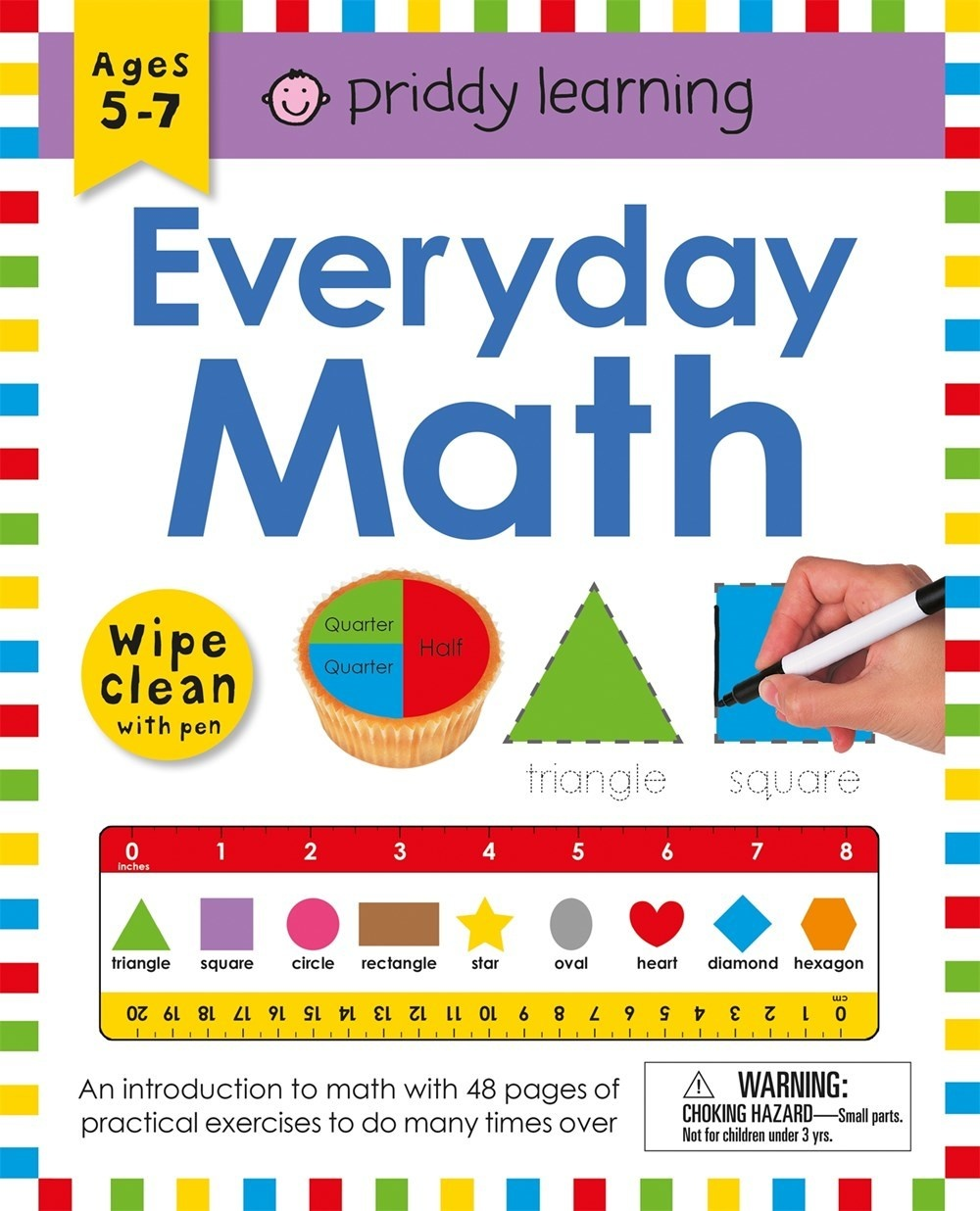 Priddy Books Priddy Wipe Clean: Everyday Math
