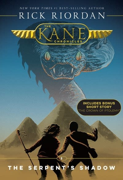 Disney-Hyperion Kane Chronicles 03 The Serpent's Shadow (New Cover)