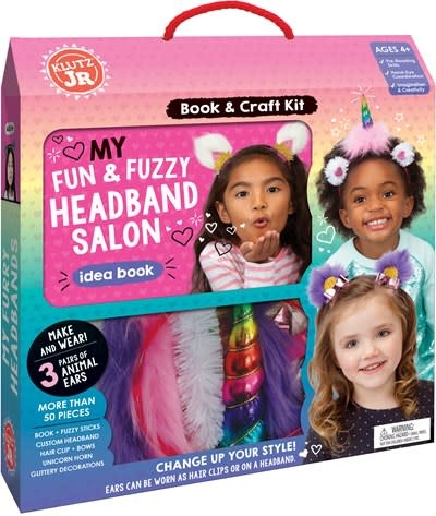 Klutz Jr. Klutz Jr. My Fun & Fuzzy Headband Salon