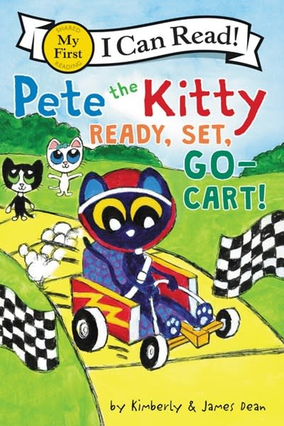 HarperCollins Pete the Kitty: Ready, Set, Go-Cart! (I Can Read!, Lvl Pre-1)