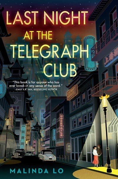 Dutton Books for Young Readers Last Night at the Telegraph Club