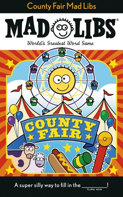 Mad Libs County Fair Mad Libs