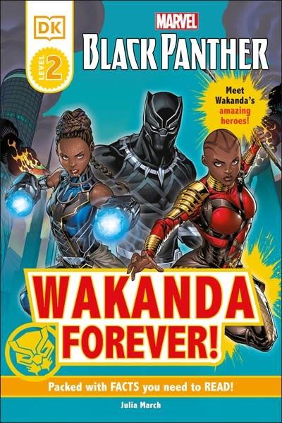 DK Children Marvel Black Panther Wakanda Forever!