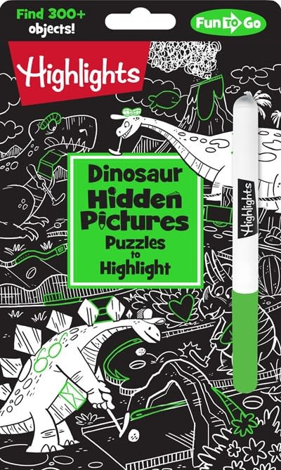 Highlights Press Dinosaur Hidden Pictures Puzzles to Highlight