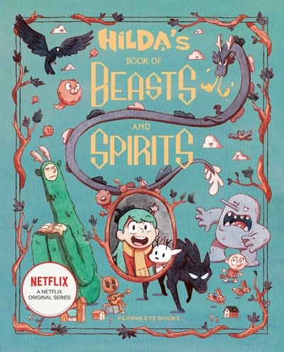 Flying Eye Books Hilda's Book of Beasts and Spirits