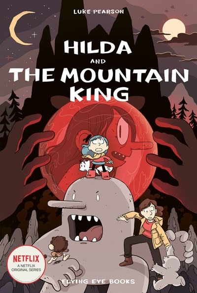 Flying Eye Books Hilda and the Mountain King