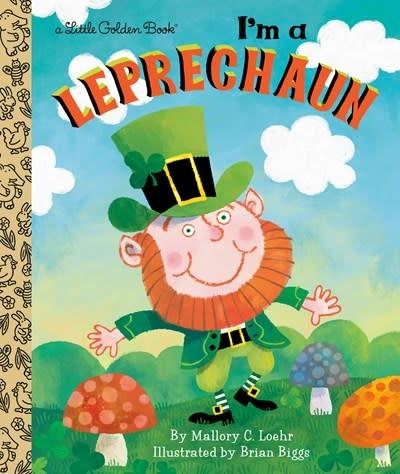 Golden Books I'm a Leprechaun