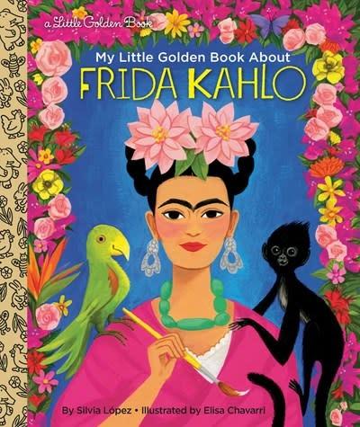 Golden Books My Little Golden Book About Frida Kahlo