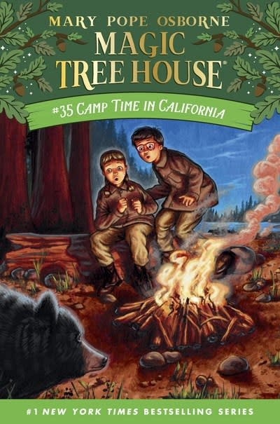 Random House Books for Young Readers Magic Tree House 35 Camp Time in California