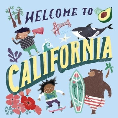 Doubleday Books for Young Readers Welcome to California (Welcome To)