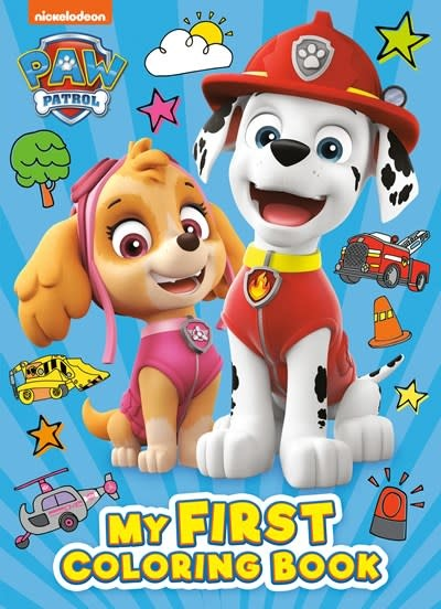Golden Books PAW Patrol: My First Coloring Book (PAW Patrol)
